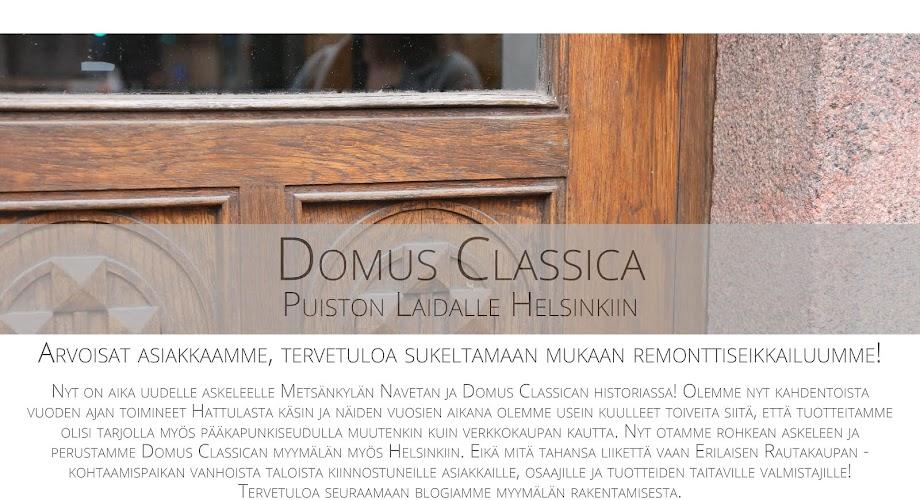 Domus Classica -puiston laidalle Helsinkiin