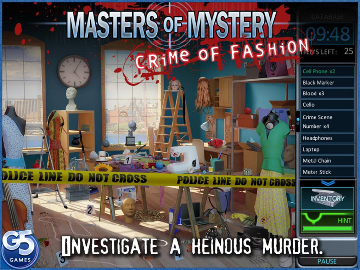 Masters of Mystery: Crime of Fashion App By G5 Entertainment - FreeApps.ws