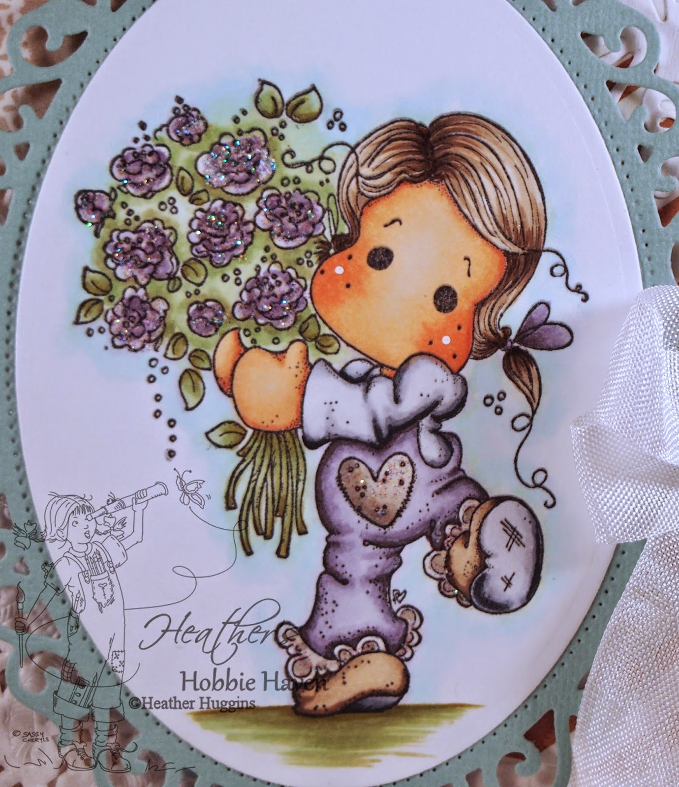 Heather's Hobbie Haven - For You Tilda Card Kit