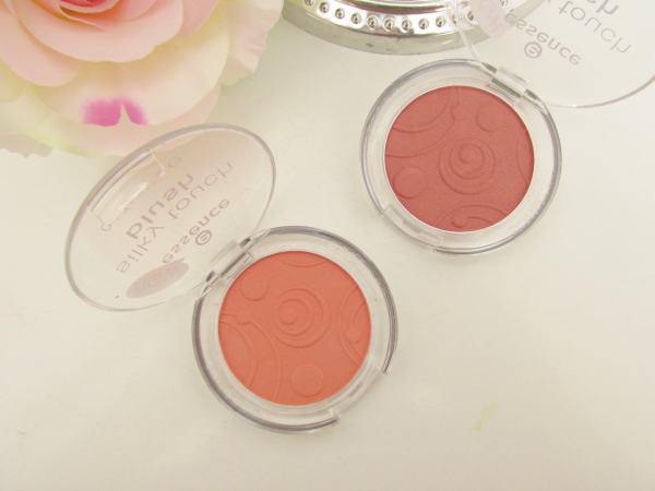 essence Silky Touch Blush 80 Autumn Peach und 70 Kissable