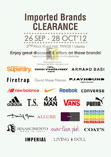 Tangs Imported Brands Clearance SALE 2012