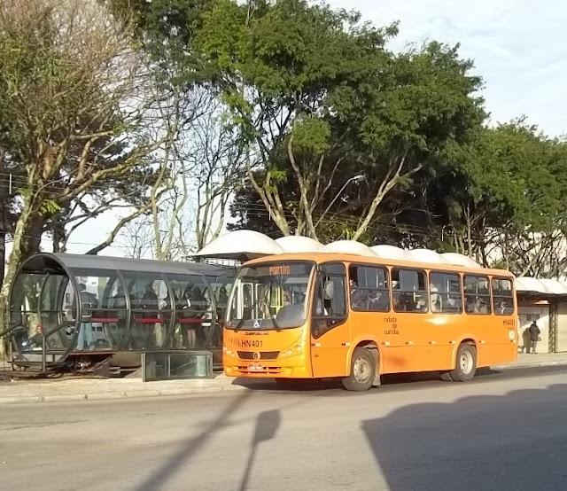 Terminal de Ônibus de Curitiba - Bairro Portão