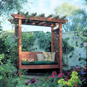 Free Garden Arbor Plans2