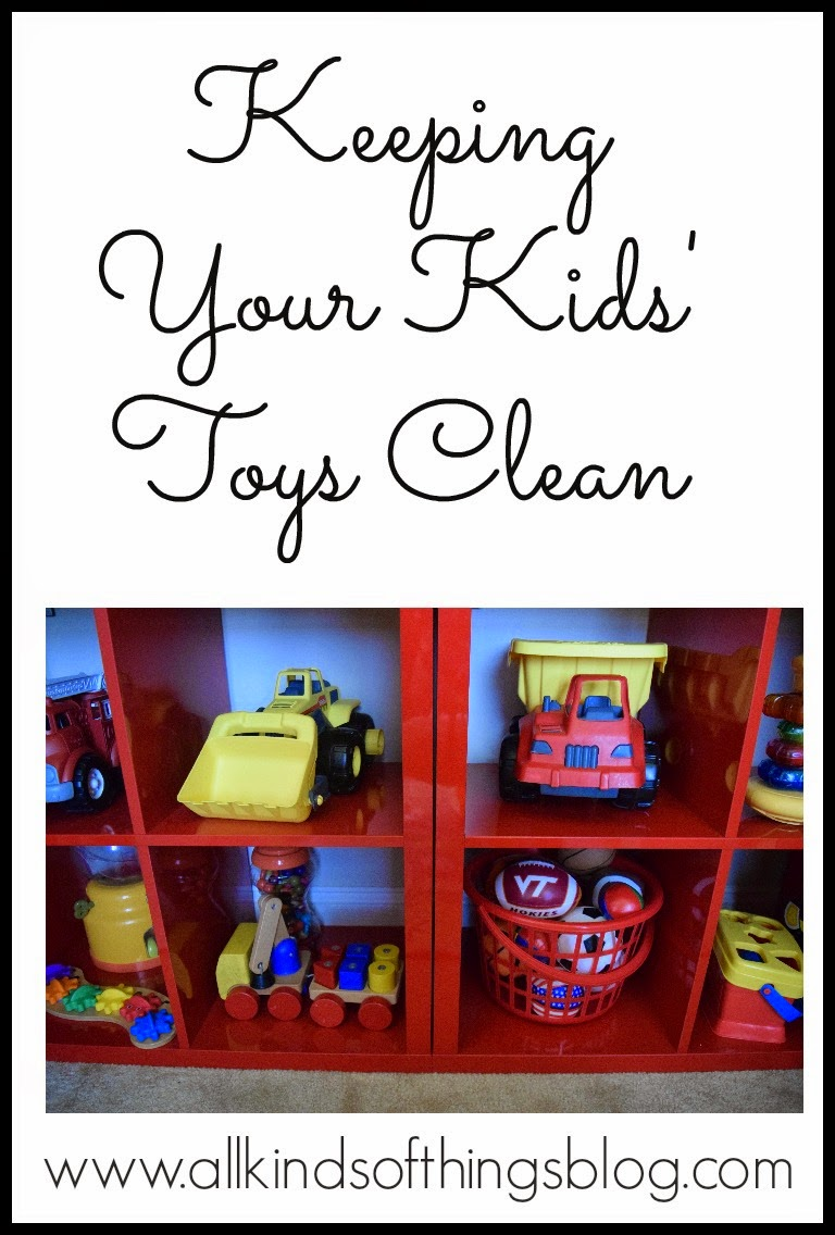 How to Keep Toys Clean