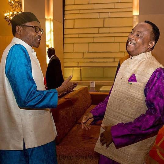 Buhari wears Indian attire at the Africa India summit