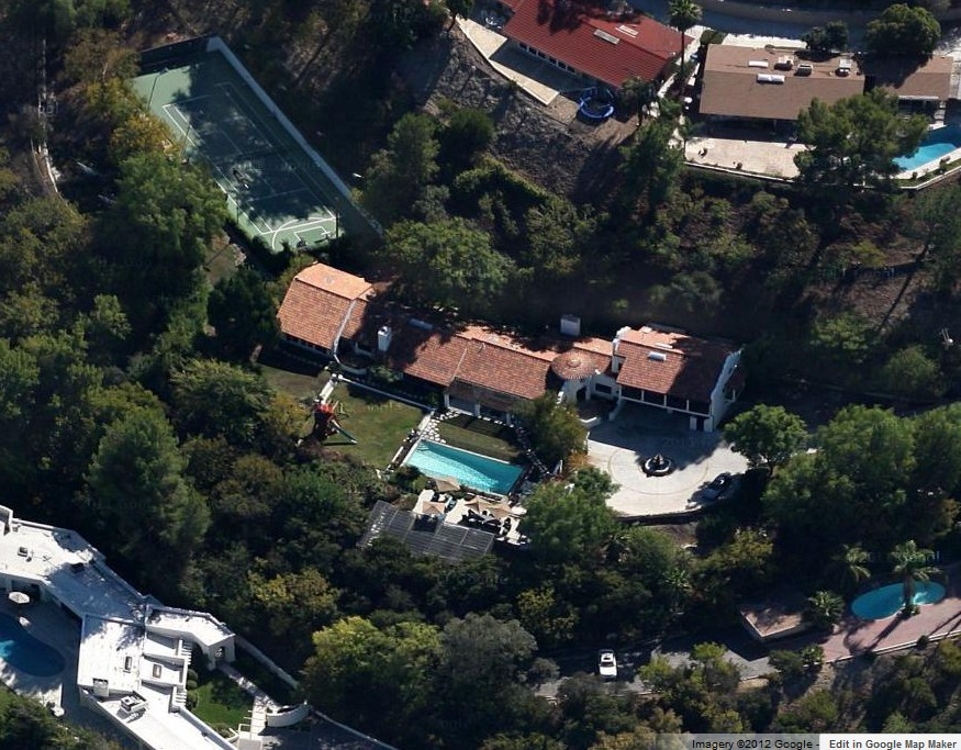 Dave Grohl house in Los Angeles