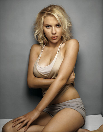 sexy scarlet Johansson