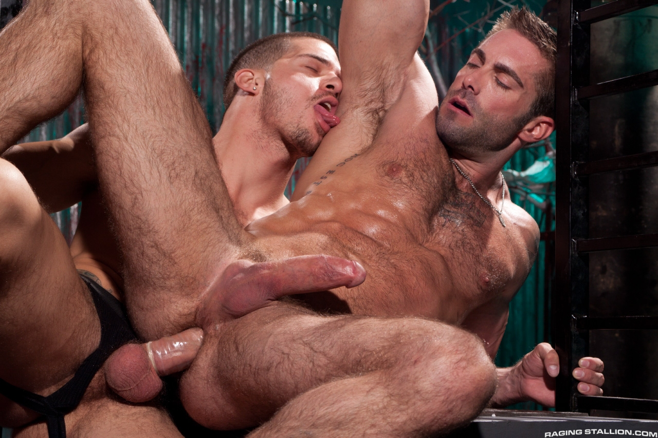 gay male porn stars shooting cum