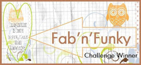 WINNER OVER AT FAB 'N' FUNKY CHALLENGE