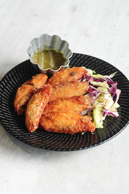 thai food chicken wings singapore