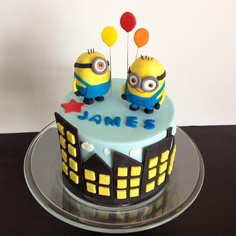 Eileen Fry Cakes Despicable Me Minion Cake