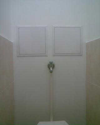 Panel lakás WC hátfal XI. ker.