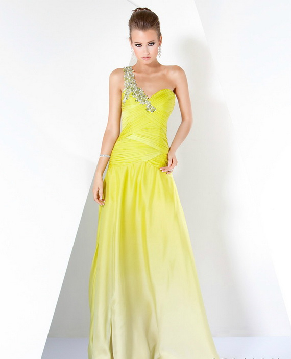 Used Yellow Prom Dresses 84