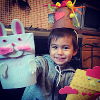 Flower pot Easter hat