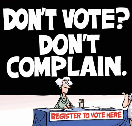 major factors for not voting in canada Sixty percent of the voting-age population will not vote (including our neighbor canada) allow felons to vote from prison so do maine and vermont if either major party was competent and really cared.