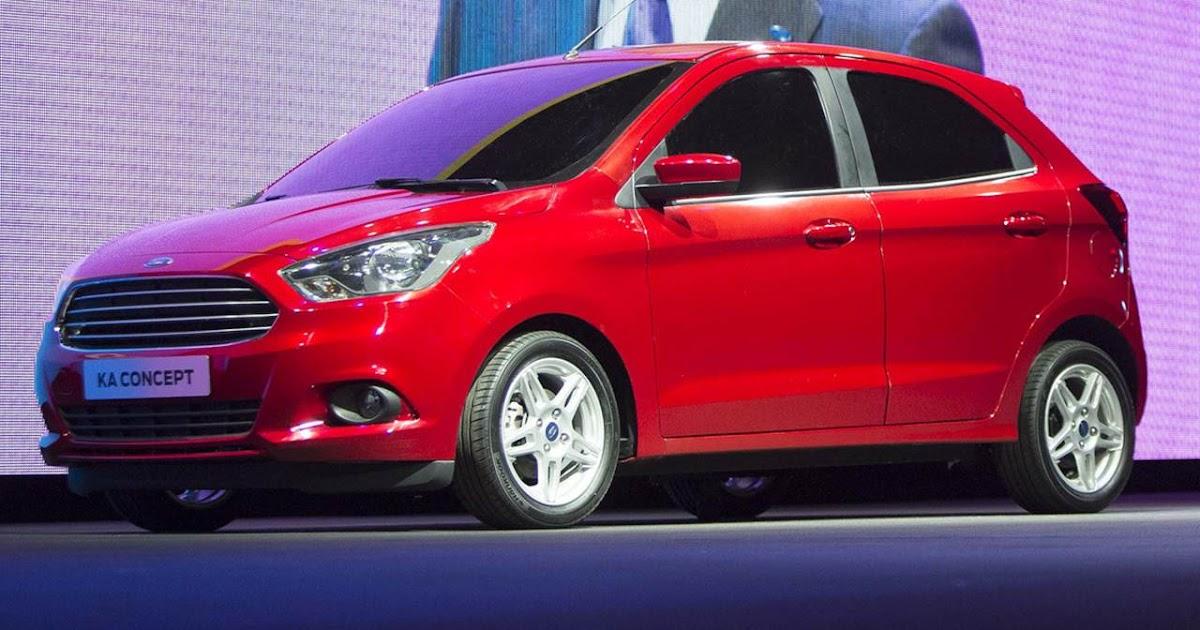 Novo Ford Ka é apresentado oficialmente na Europa
