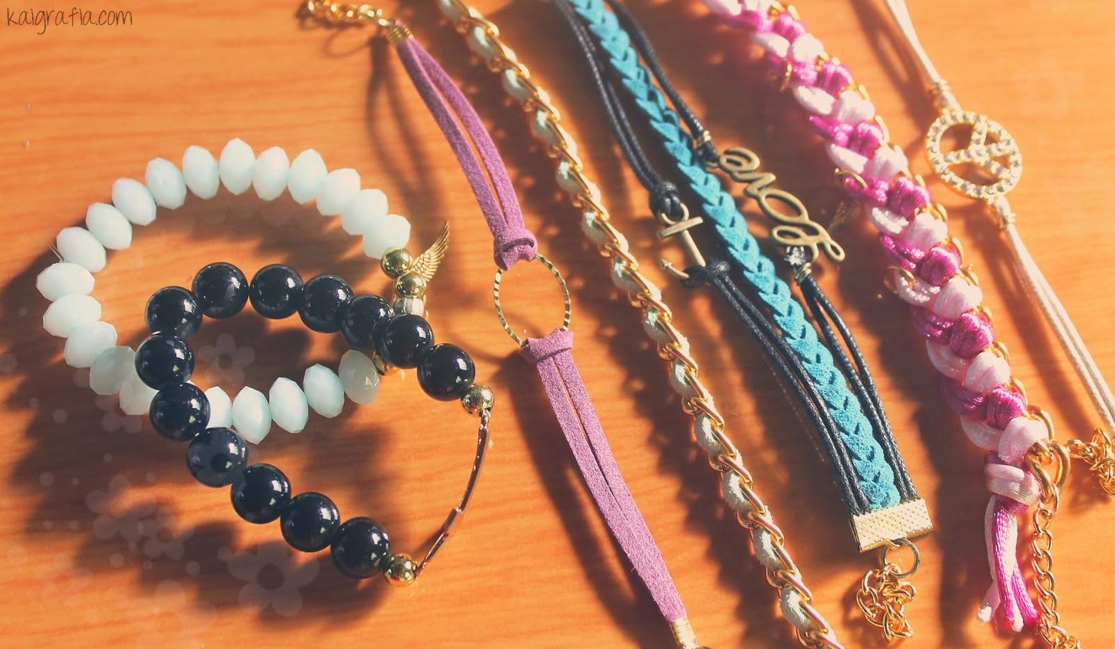 bracelets arm candies