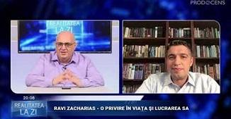 "Realitatea la zi: ""RAVI ZACHARIAS - O PRIVIRE ÎN VIAȚA ŞI LUCRAREA SA"" 🔴 Invitat: Vlad Crîznic"