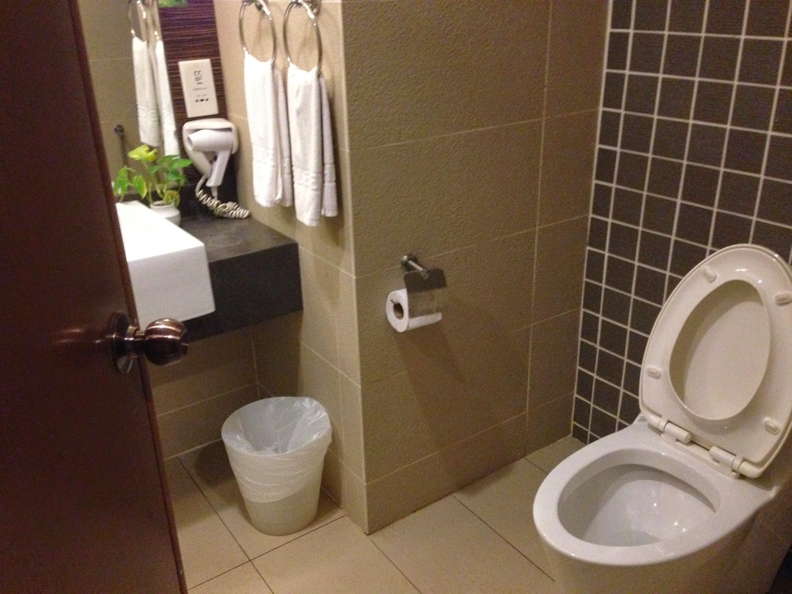 Washroom of superior room