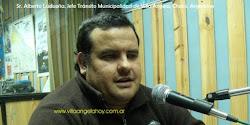 Entrevista (15-01-13) a Jefe Tránsito Municipal