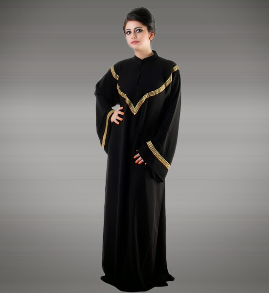 Islamic Abaya Dresses Designs 2014