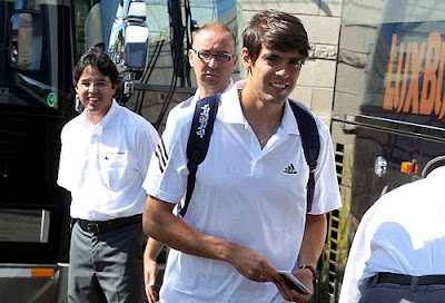 Ricardo Kaka is training with Real Madrid in Los Angeles