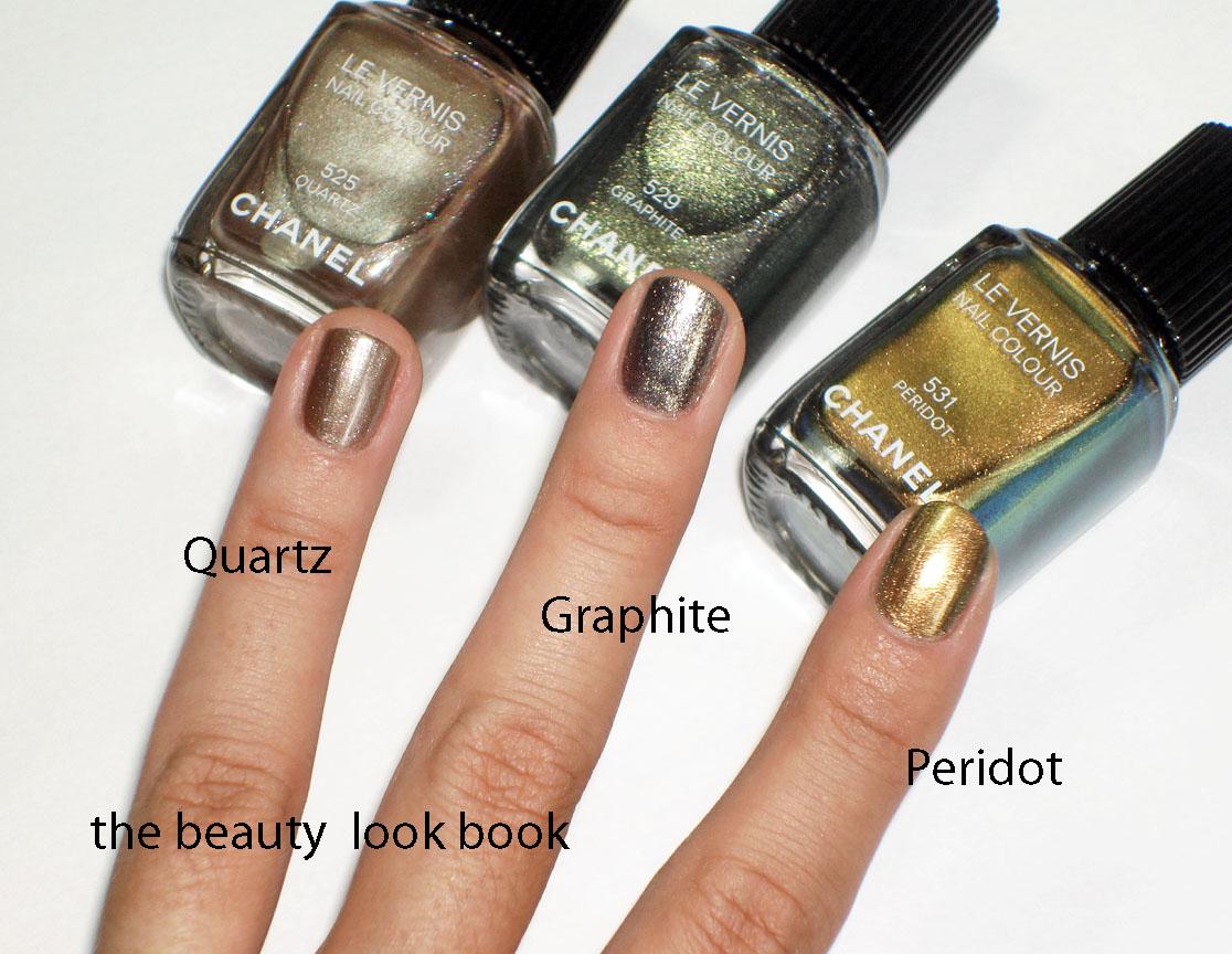 Chanel Le Vernis for Fall 2011: Quartz, Graphite and ...