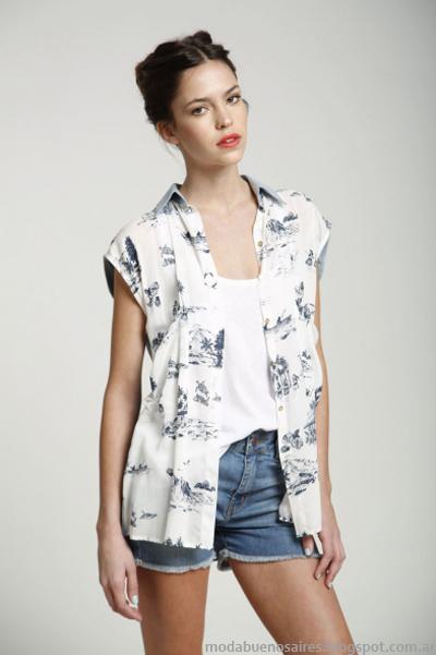 Leandro Dominguez camisas mujer primavera verano 2014