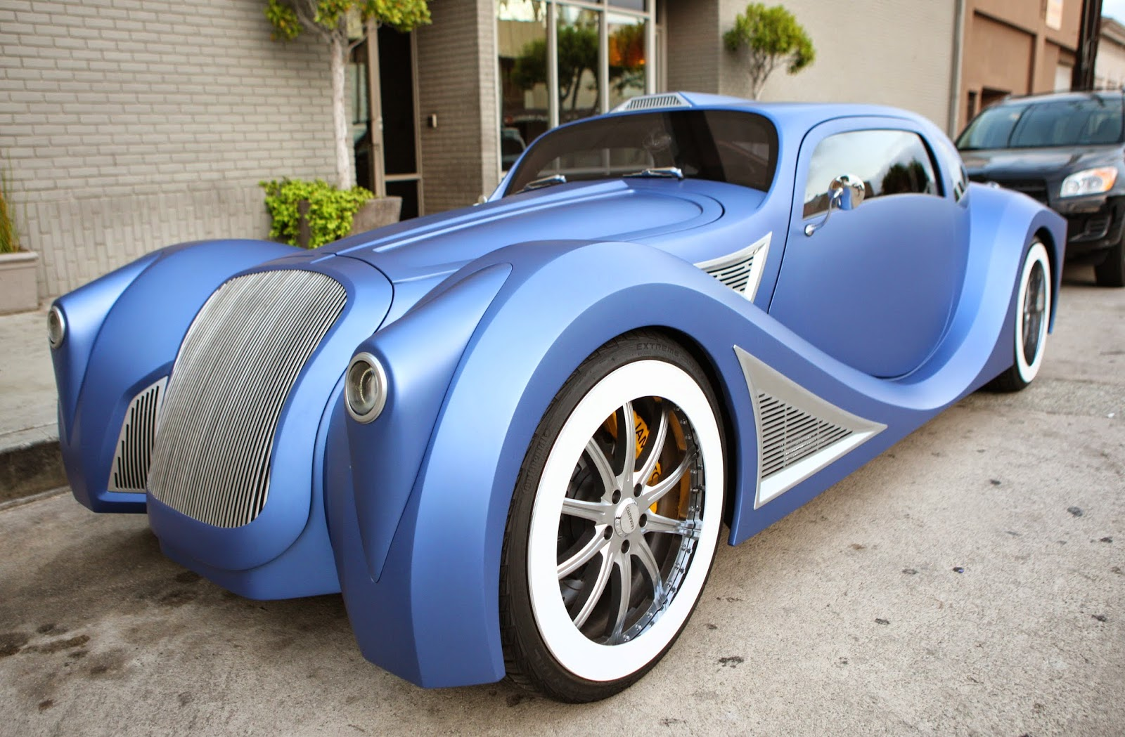 Custom built car