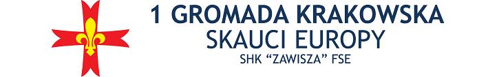 "1 Gromada Krakowska - Skauci Europy - SHK ""Zawisza"" FSE"