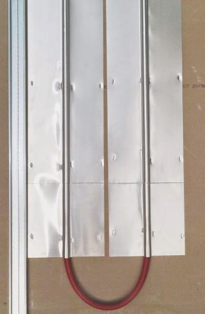Plafond chauffant Caleosol budget sur plaque de platre