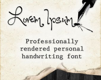 Personal Handwriting Fonts
