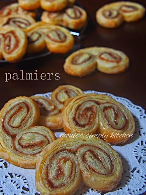 palmiers puff pastry instan