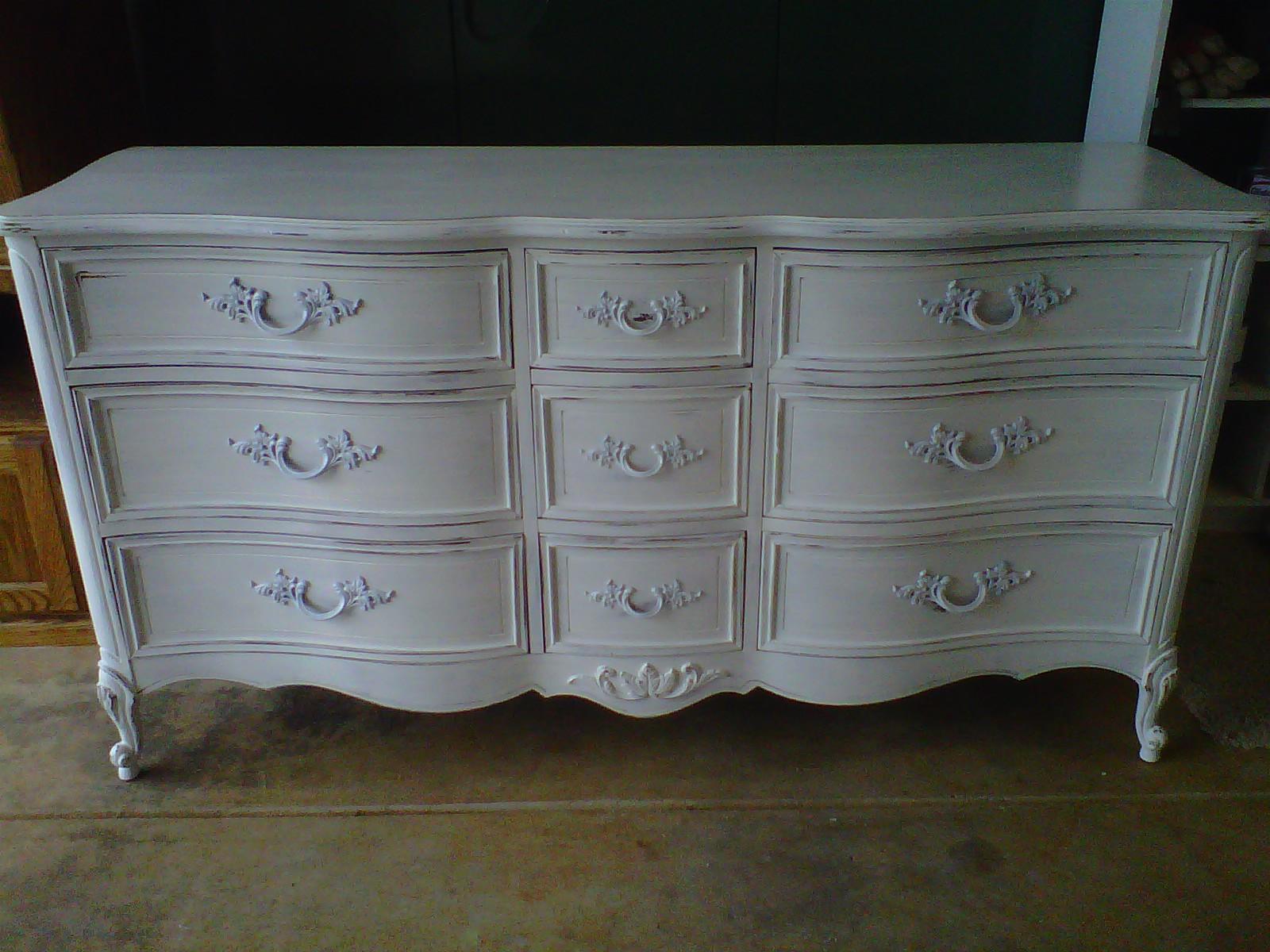 Thesmithgarage French 9 Drawer Louis Xv Style Dresser