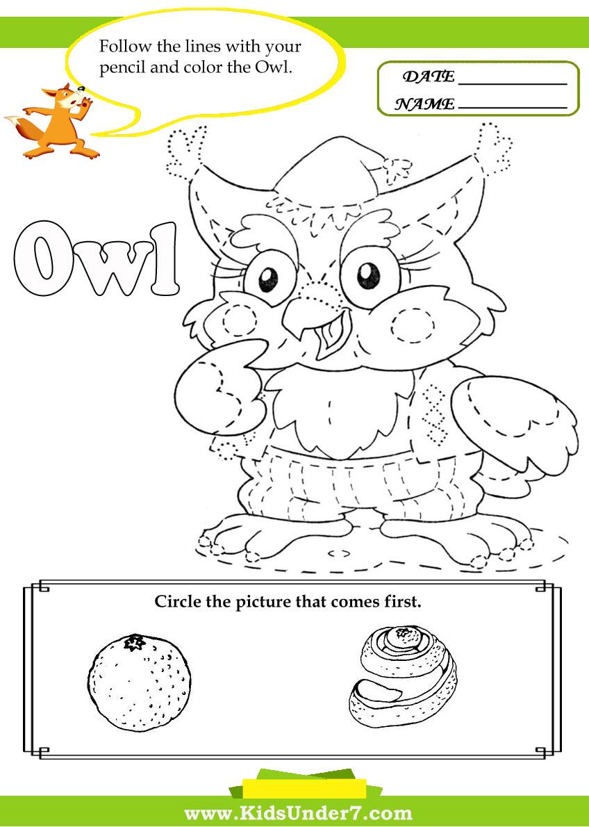 worksheet Letter O Worksheets For Kindergarten kids under 7 letter o worksheets worksheets