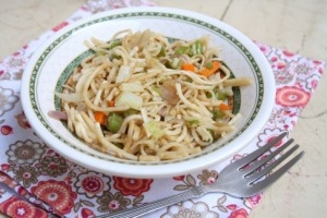 noodle vegetables in microwave recipe