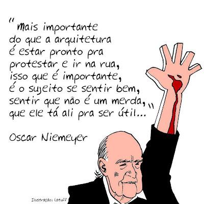 Frase: Oscar Niemeyer