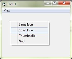 The PopupMenu method to show popup menu