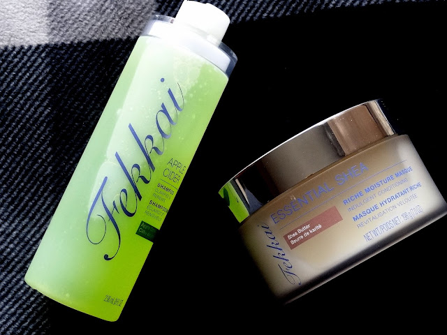 Fekkai Apple Cider Shampoo and Essential Shea Riche Moisture Masque