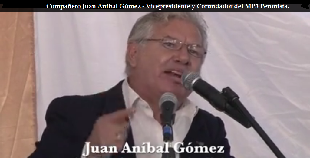 Discurso del Compañero Juan Anibal Gómez