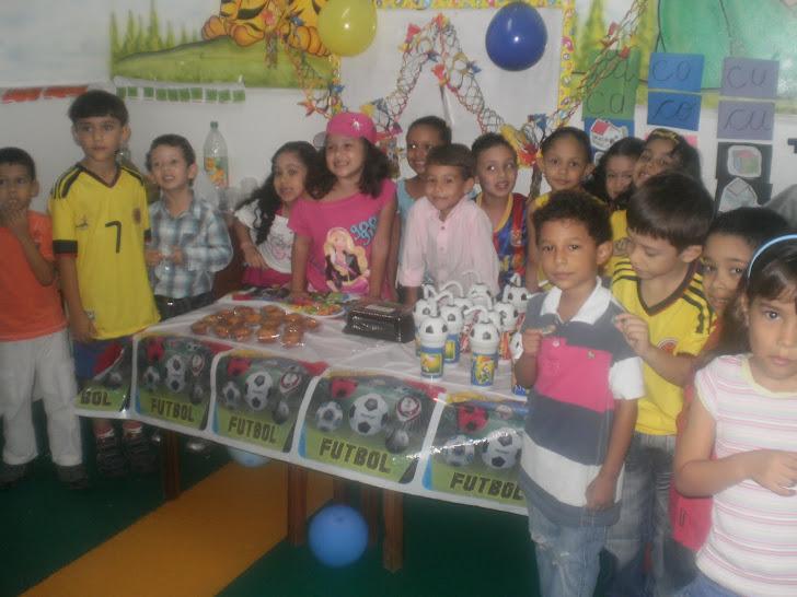 Cumpleaños de Santiago