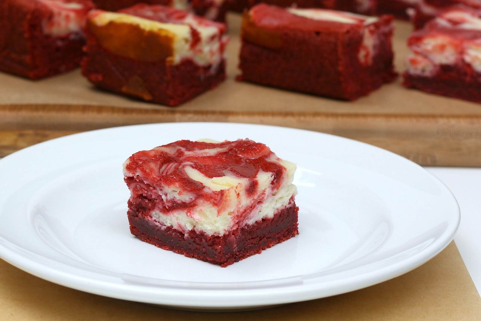 Bitchin' Kitchen: Red Velvet Cheesecake Brownies