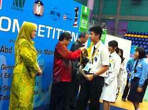 MES Juara Robotik Kebangsaan 2011