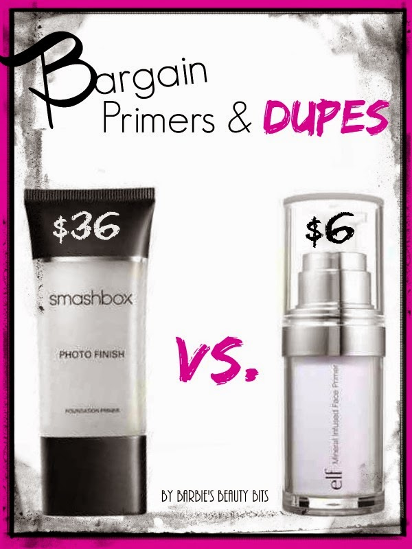 e.l.f. Studio Mineral Infused Face Primer; A Bargain Shopper Primer and DUPE! By Barbie's Beauty Bits