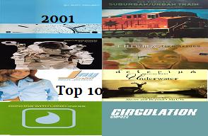 2001 Top 10 zene szubjektív