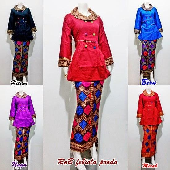 Baju Batik Setelan Model Febiola Prodo - Batik Bagoes Solo