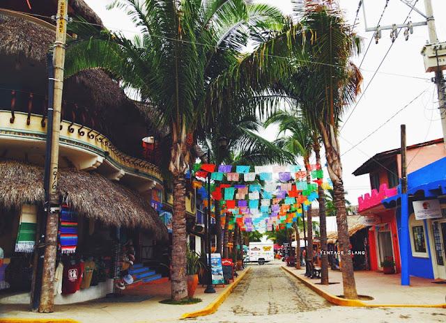 flags sayulita mexico