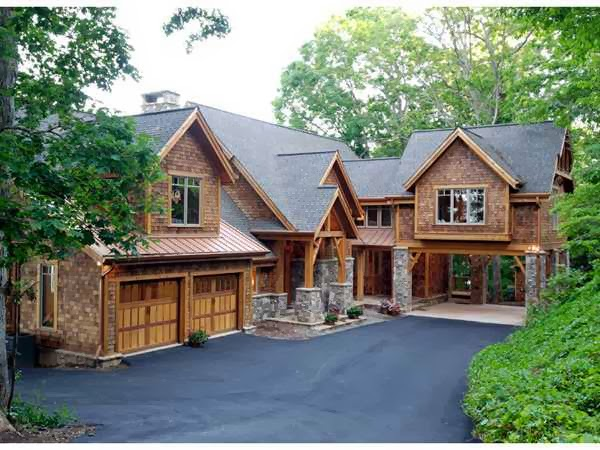 Luxury Mountain House Plans picture
