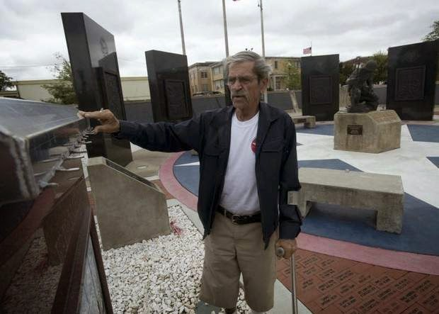 Military News - Fla. vets say vandalism of military memorials should stir revulsion