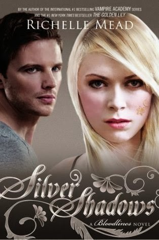 http://www.amazon.com/Silver-Shadows-Bloodlines-Richelle-Mead/dp/1595143211/ref=sr_1_1?s=books&ie=UTF8&qid=1408738234&sr=1-1&keywords=richelle+mead